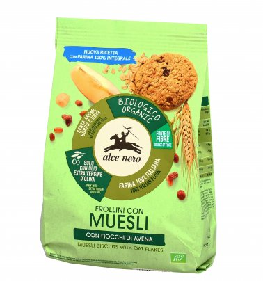 Biscotti Frollini con Muesli Bio