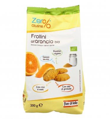 Frollini all'Arancia Bio - Zero Glutine 200 gr.