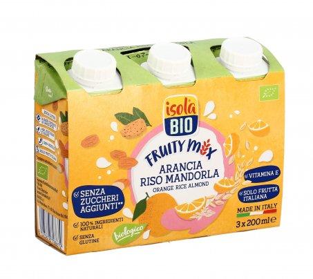 Bevanda di Arancia, Riso e Mandorla - Fruity Mix