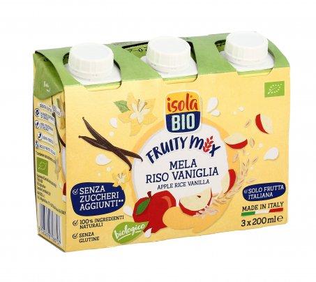 Bevanda con Mela, Riso e Vaniglia - Fruity Mix