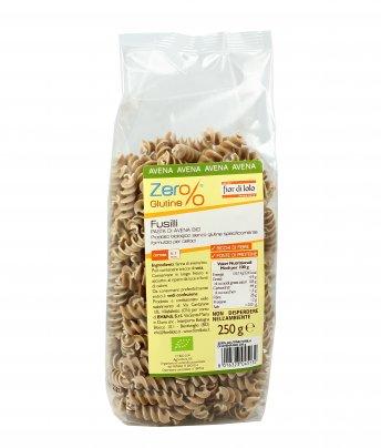 Fusilli di Avena Bio - Zero Glutine