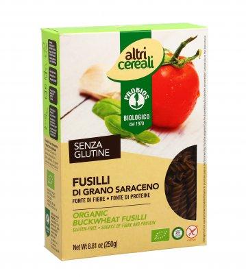 Pasta Fusilli di Grano Saraceno Senza Glutine - AltriCereali