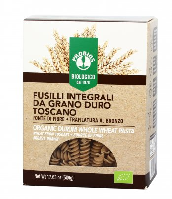 Pasta Integrale di Grano Duro Toscano - Fusilli