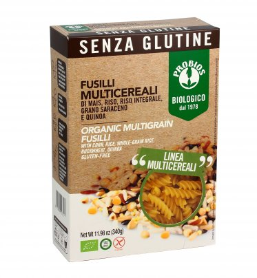 Fusilli Multicereali - Senza Glutine