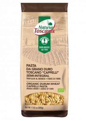 """Pasta da Grano Duro Toscano """"Cappelli"""" Semi Integrale - Natura Toscana"""