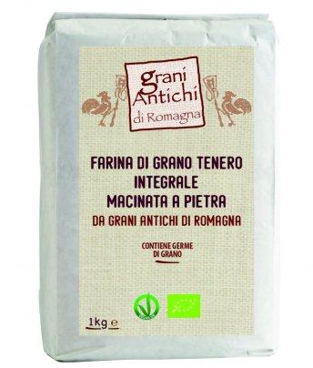 Farina di Grano Tenero Integrale - Grani Antichi di Romagna