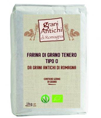 Farina di Grano Tenero Tipo 0 - Grani Antichi di Romagna