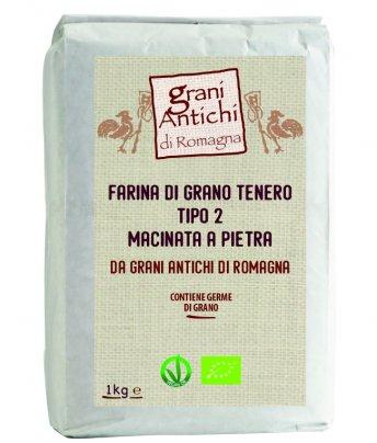 Farina di Grano Tenero Tipo 2 - Grani Antichi di Romagna