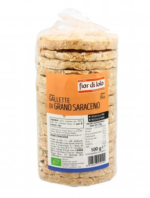 Gallette di Grano Saraceno Biologiche