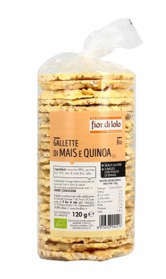 Gallette di Mais e Quinoa