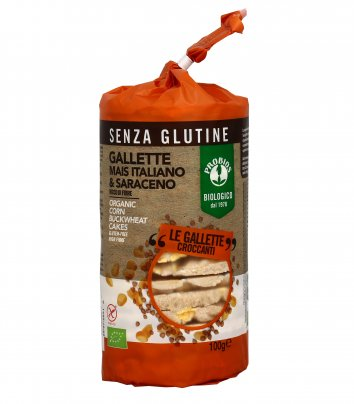 Gallette Mais Italiano e Saraceno - Senza Glutine