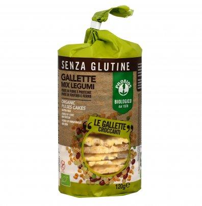 Gallette Mix di Legumi - Senza Glutine
