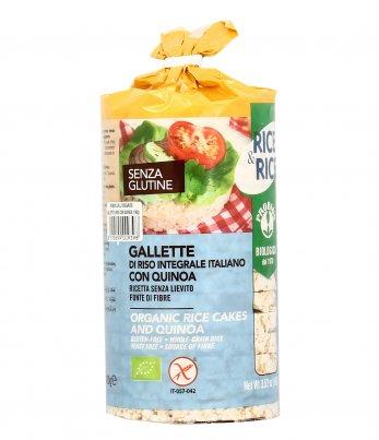 """Gallette di Riso Integrale con Quinoa """"Rice & Rice"""""""
