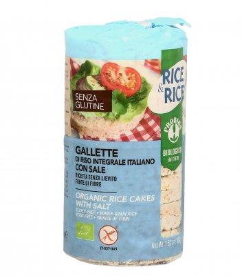 Gallette di Riso Integrale Italiano con Sale - Rice & Rice