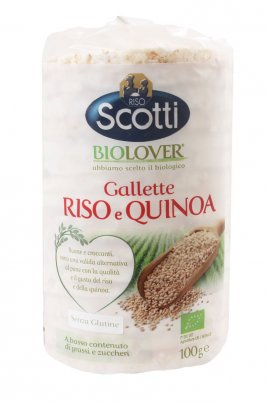 BioLover - Gallette Riso e Quinoa