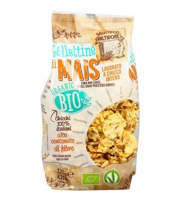Mini Gallette di Mais Bio 100% Italiane 120 gr.