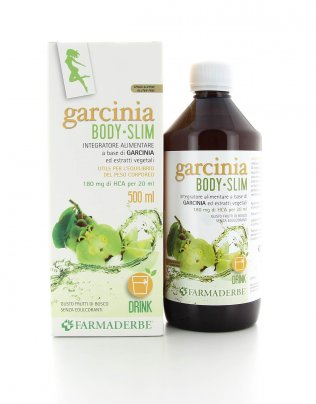 Garcinia Body Slim - Gusto Frutti di Bosco