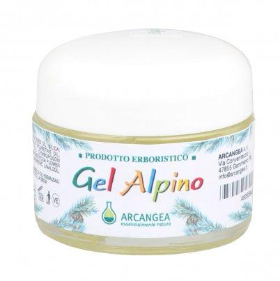 Gel Alpino - Gel con Oli essenziali di Eucalipto, Pino e Lavanda
