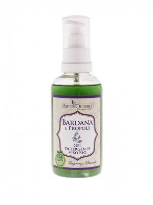 Gel Detergente Viso - Bardana e Propoli - 250 ml.