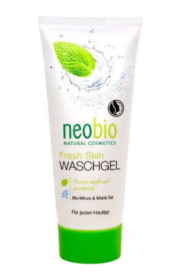 Gel Detergente Viso con Menta e Sale Marino - Waschgel