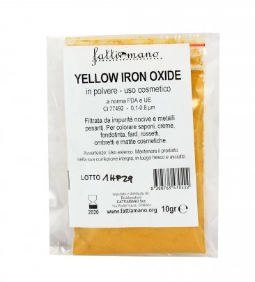 Giallo Ocra Yellow Iron - Pigmenti per Cosmetici