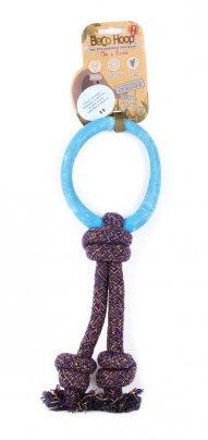 Gioco Naturale Anello con Corda Small - Blu