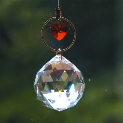 Cristallo Swarovski A Heart in the World