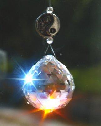 Cristallo Swarovski Yin-Yang