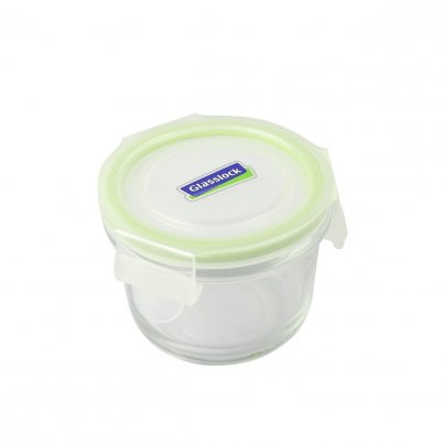 Contenitore Rotondo in Vetro per Alimenti - Classic Type Microwave 110 ml.