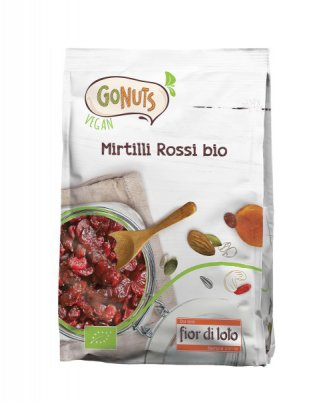 Go Nuts - Mirtilli Rossi Bio 150 Grammi