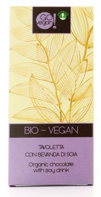 Go Vegan - Cioccolata al Latte Vegan Bio