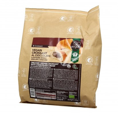 Croissant Bio al Cioccolato - Go Vegan