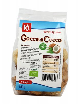 Gocce di Cocco - Biscotti Senza Glutine