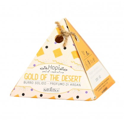 "Burro Solido Corpo all'Argan ""Gold Of The Desert"" - Hopi"