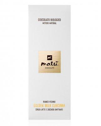 Cioccolato Bianco Golden Milk Curcuma