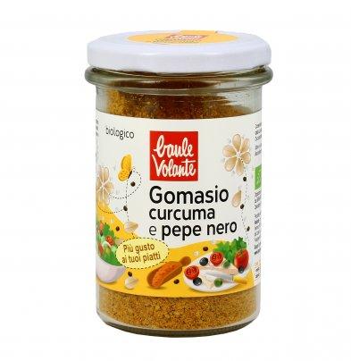 Gomasio con Curcuma e Pepe Nero