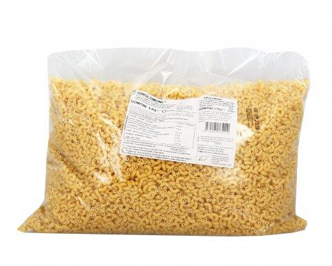Gomitini Pasta di Semola di Grano Duro Bio - 5 Kg