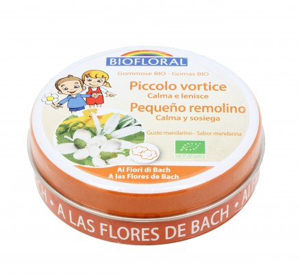 """Gommose con Fiori di Bach """"Piccolo Vortice"""" - Gusto Mandarino"""