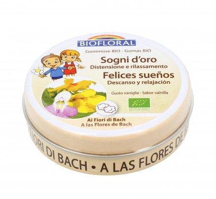 """Gommose con Fiori di Bach """"Sogni d'Oro"""" - Gusto Vaniglia"""