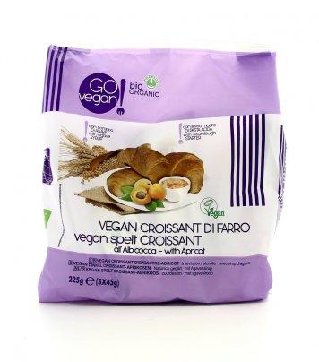 Go Vegan - Croissant di Farro all'Albicocca