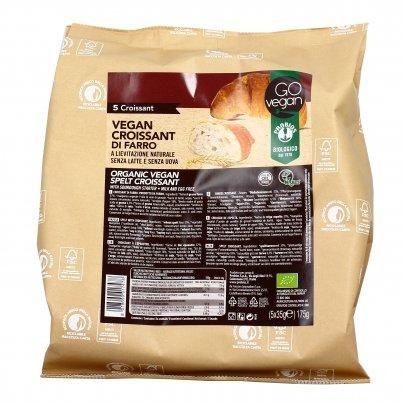 Croissant Vegan di Farro Bio - Go Vegan