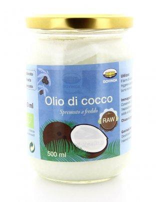 Olio Di Cocco Raw 500 Ml Spremuto A Freddo - G425 500 ml