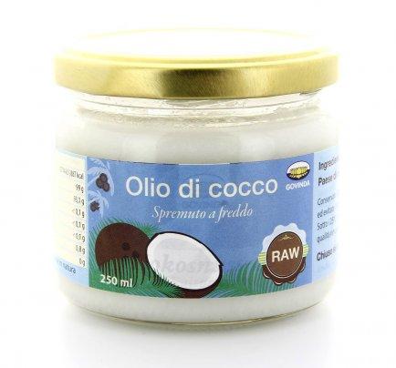 Olio Di Cocco Raw 500 Ml Spremuto A Freddo - G425 250 ml