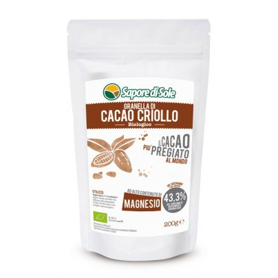 Granella di Cacao Criollo Bio