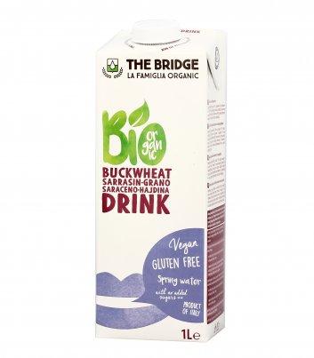 Bevanda Vegetale al Grano Saraceno e Riso - Bio Buckwheat Drink Natural