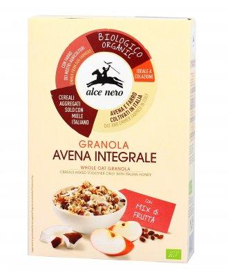 Granola Avena Integrale con Mix di Frutta Bio