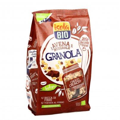 Granola Bio Avena Integrale con Crusca e Cioccolato