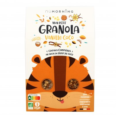 Granola Bio per Bambini - Vaniglia e Cocco