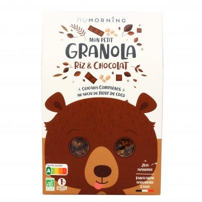 Granola Bio per Bambini - Riso e Cioccolato