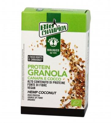 Granola Bio Proteica con Canapa e Cocco - Bio Champion